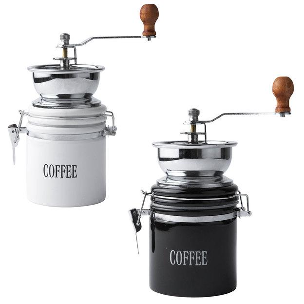 Kaffeemühle aus Porzellan