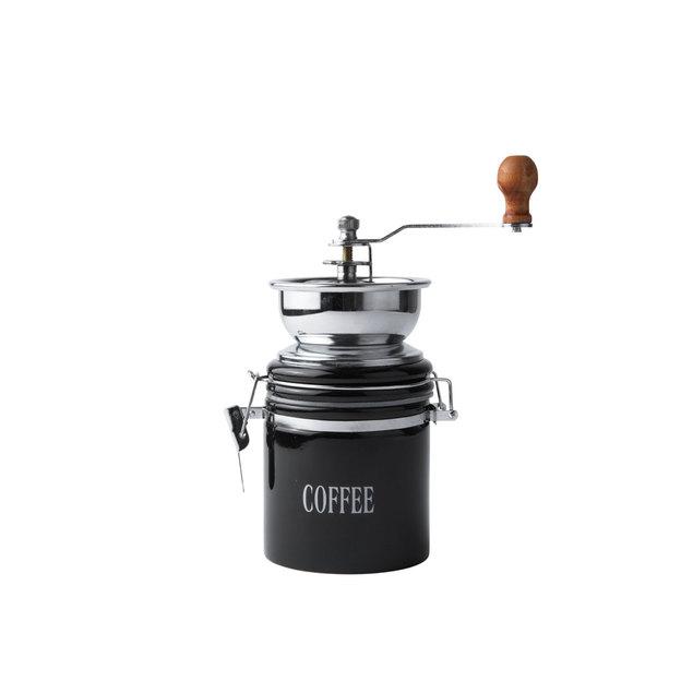 Kaffeemühle schwarz