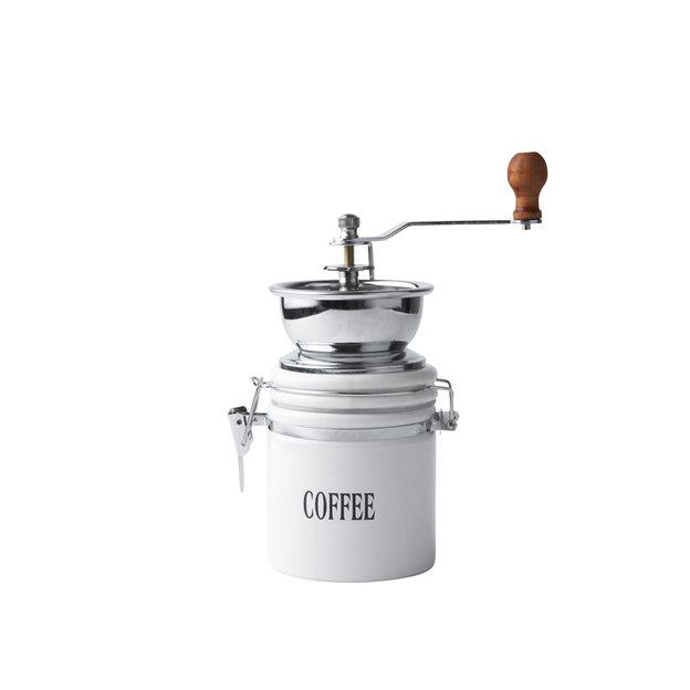 Kaffeemühle weiss