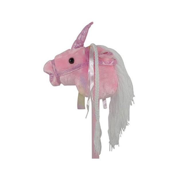 Steckenpferd Einhorn rosa