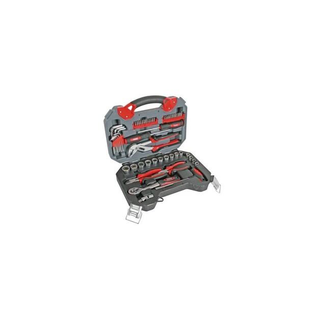 Perel HSETPRO2 56-tlg. HQ Werkzeugsatz stabiler Werkzeugkoffer