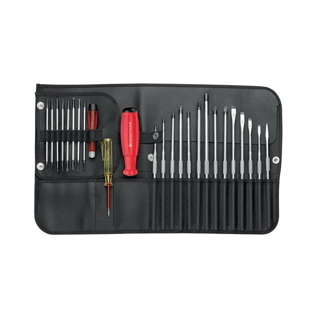 PB Rolltasche Schraubenzieher Allround-Set mit SwissGrip und Wechselklingen