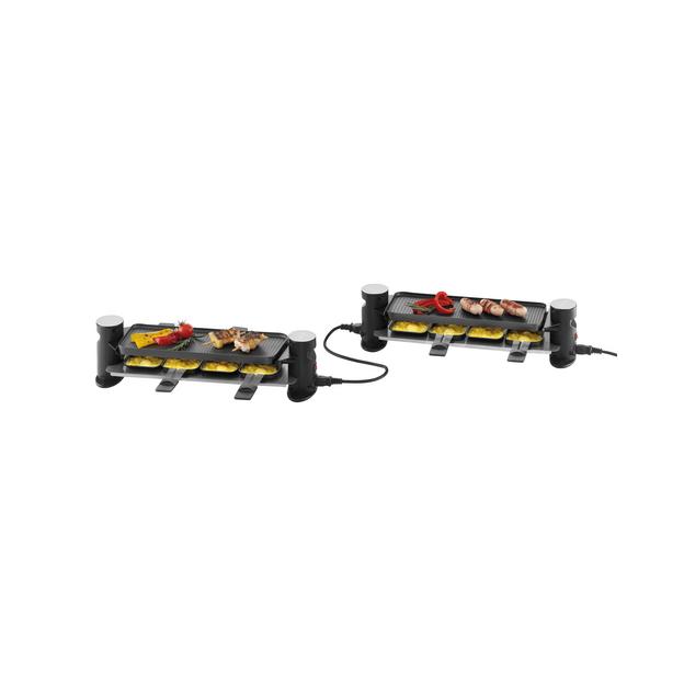 Trisa Raclette Connect 4 plus 4 individuell zusammensteckbar