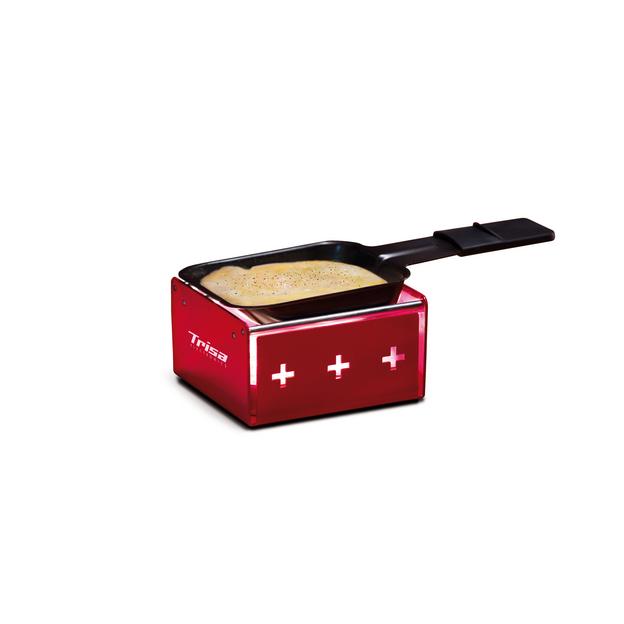 Trisa Raclette MyRaclette rot mit Rechaudkerze betrieben