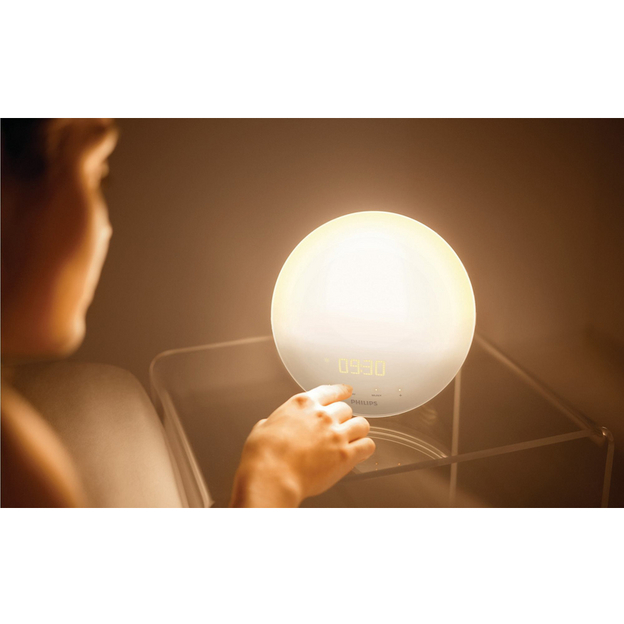 Réveil Wake Up Light sw Philips HF3510/01
