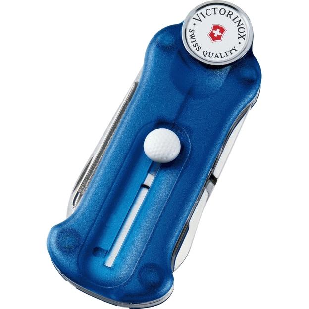Victorinox Golf Tool, blau transparent Ein Muss für jeden Golfer
