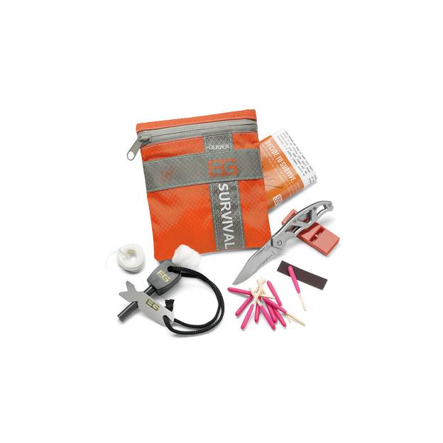 Bear Grylls Basic Kit, 8 Bestandteile, Gewicht: 119 g,