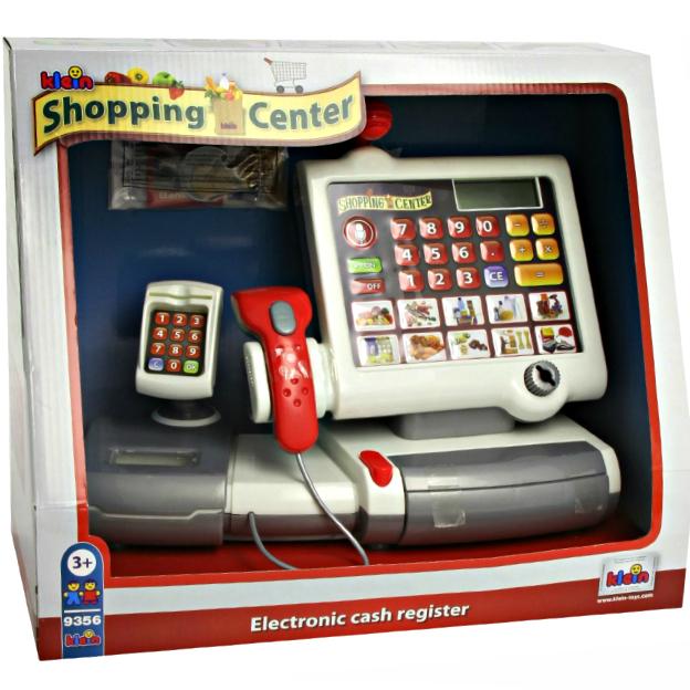 Klein-Toys Kassenstation mit Folientastatur Alter: 3+