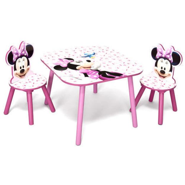 Delta Children Disney Minnie Tisch mit Stühlen