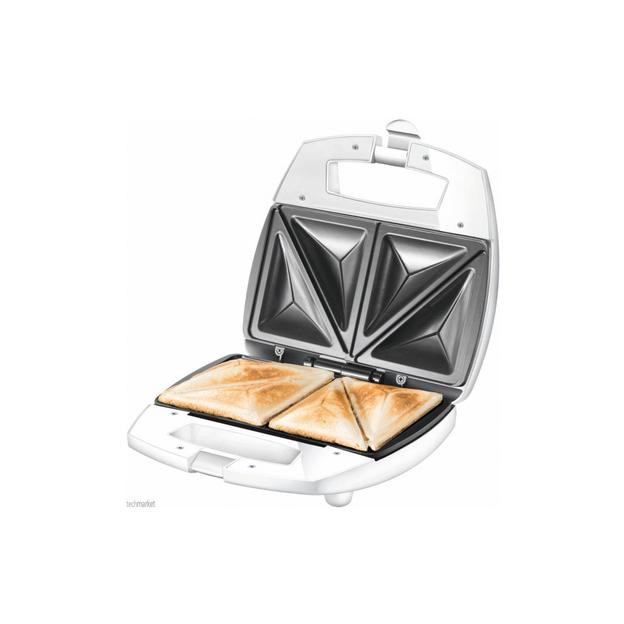 Unold Sandwich-Toaster American für 4 Sandwiches in Dreiecksform
