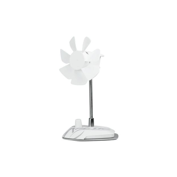 Arctic Cooling USB-Ventilator Breeze weiss USB Anschluss mit 1.8m Powerkabel