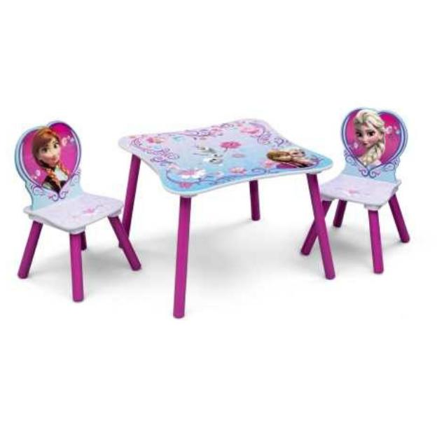 Delta Children Frozen Tisch mit Stühlen Alter 2+