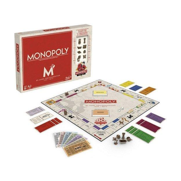 Monopoly 80 Jahre Schweizer Edition 2-6 Spieler, ab 8 Jahren