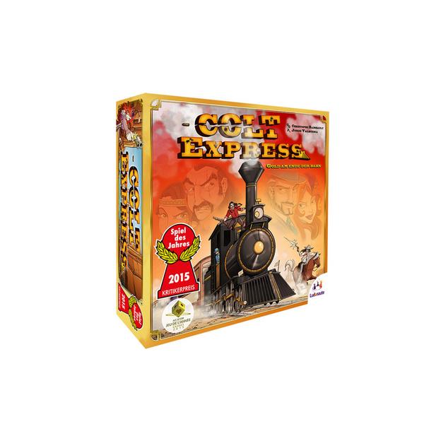 Colt Express Alter: 10+, für 2-6 Spieler