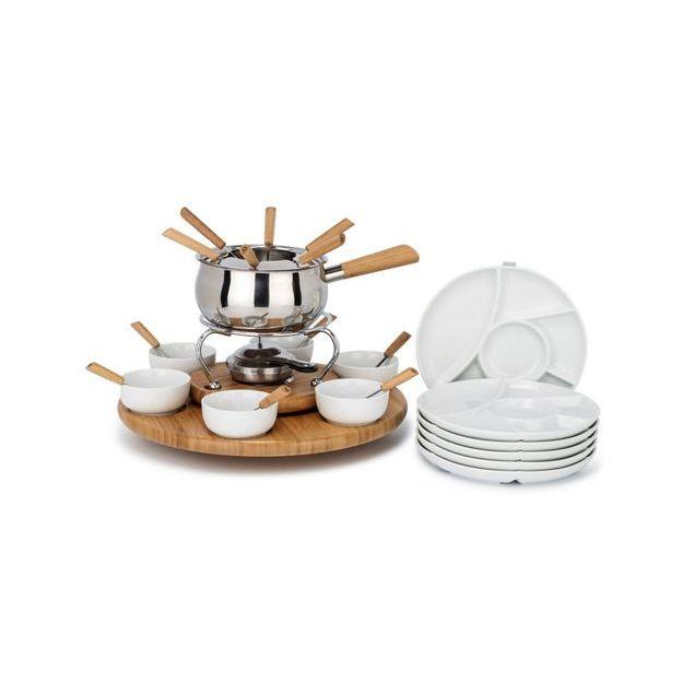 Set fondue Style'n Cook, 28 pièces