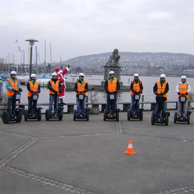 Winter Segway Tour in Zürich