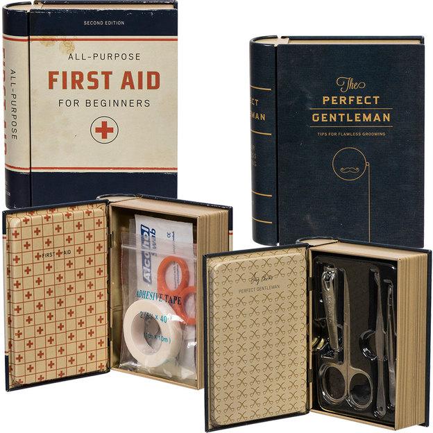 Sets de soins en coffret Livre ancien