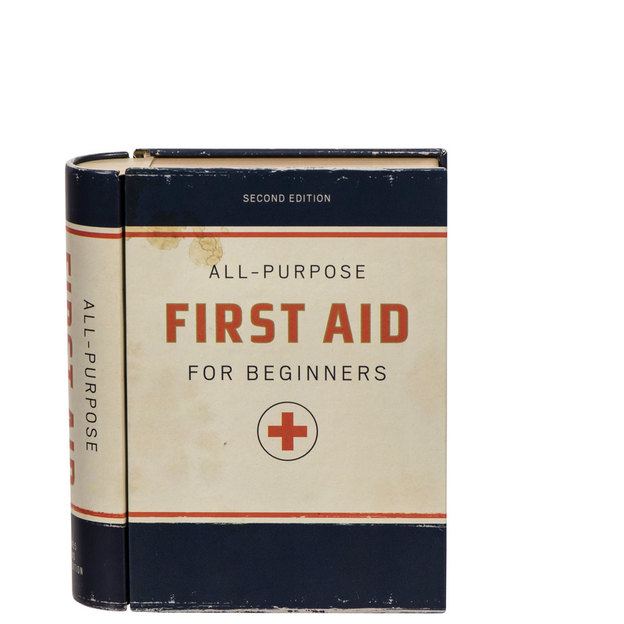 First Aid Kit in Buchform