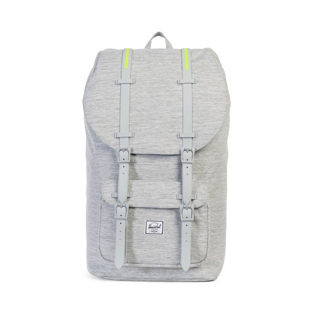 Sac à dos Herschel Little America Light Grey Crosshatch
