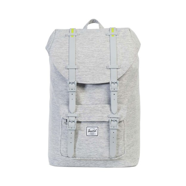 Herschel Rucksack Little America Mid Light Grey Crosshatch