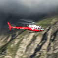 Oberengadiner Gletscher Rundflug