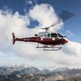 Helikopter selber fliegen ab Samedan