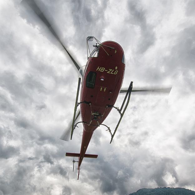 Piloter un hélicoptère (Haute-Engadine)