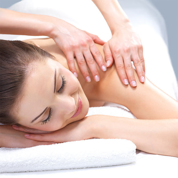 Ayurveda-Rückenmassage