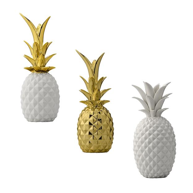 Deko Ananas Aus Keramik Von Bloomingville ...