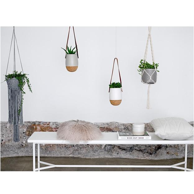 suspension pour plantes de bloomingville. Black Bedroom Furniture Sets. Home Design Ideas