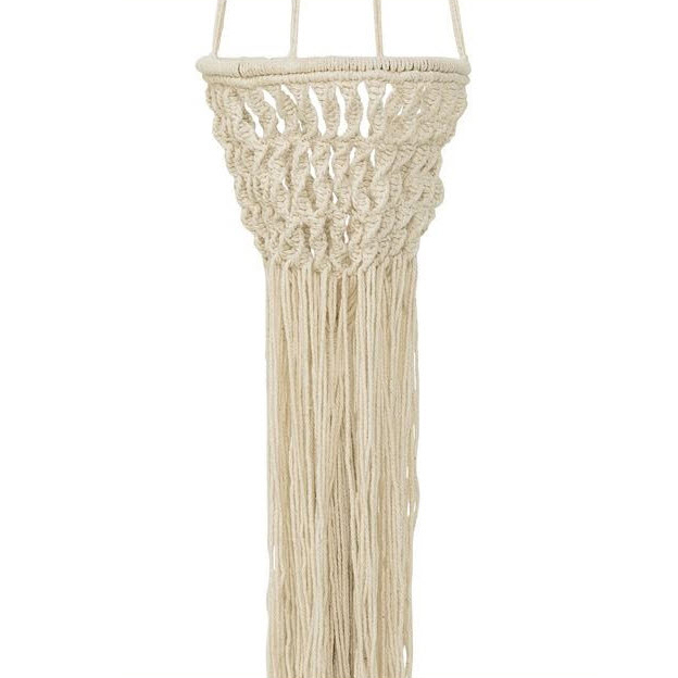 Pflanzenhänger aus Baumwolle