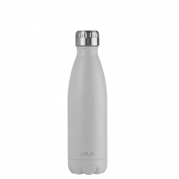 Bouteille isotherme FLSK blanche 500 ml