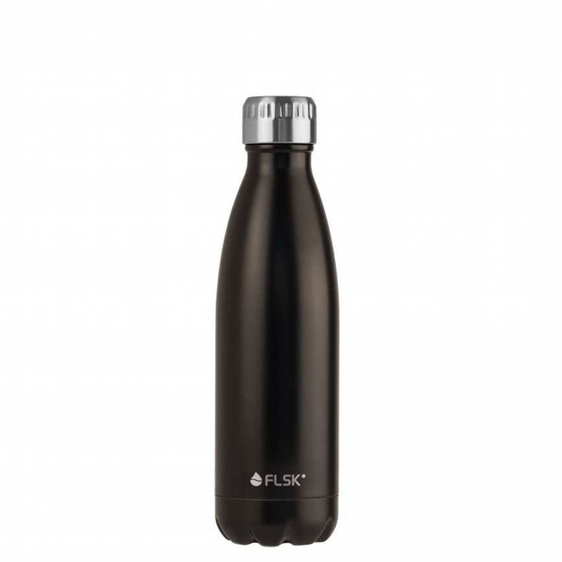 Bouteille isotherme FLSK noire 750 ml
