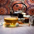 Thé de Gottlieber avec boîte oriental