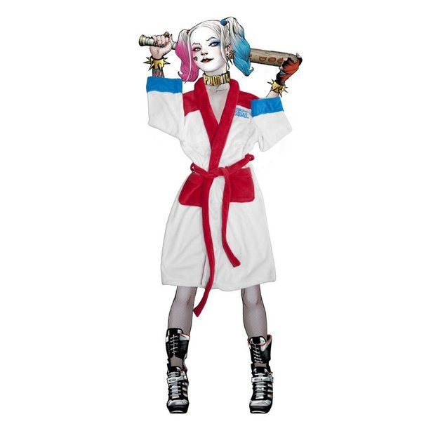 Bademantel Suicide Squad Harley Quinn