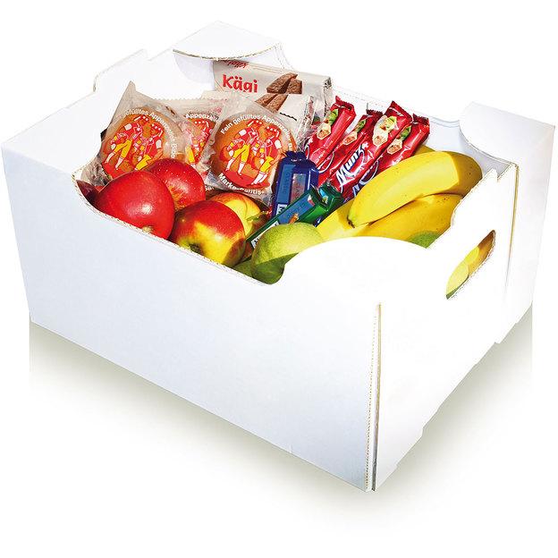 Früchte & Schoggibox