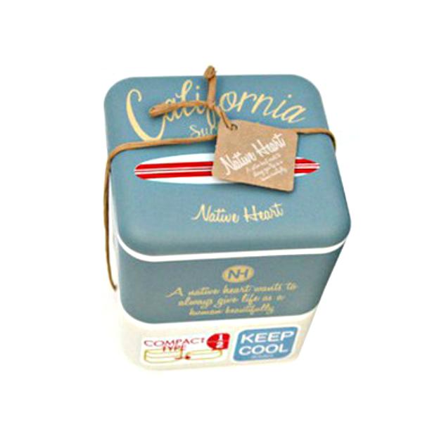 Bento Aufbewahrungsbox California Style blau Le Matin
