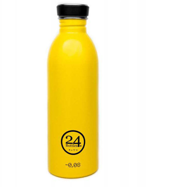Gourde 24 Bottles taxi yellow
