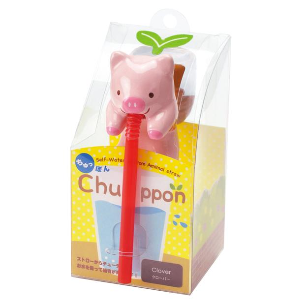 Chuppon Schweinchen - Weiss Klee
