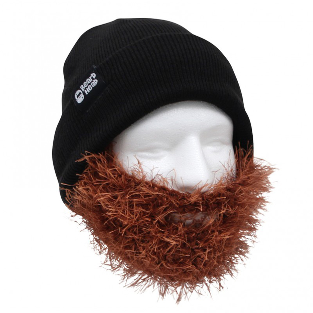 Mütze mit Bart Two Bushy