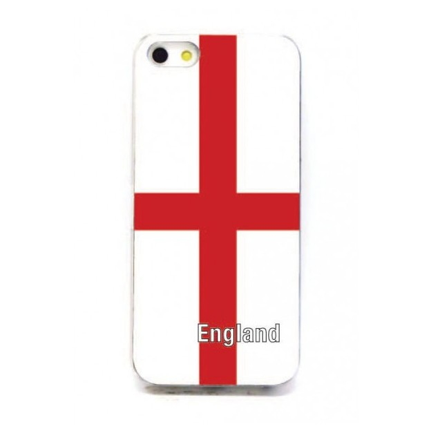Housse LED iPhone 5 Nations foot Angleterre