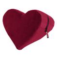 Liebeskissen Keil in Herz-Form