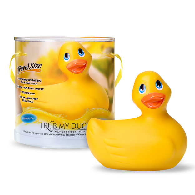 Canard vibrant I Rub My Duckie de Big Teaze Toys
