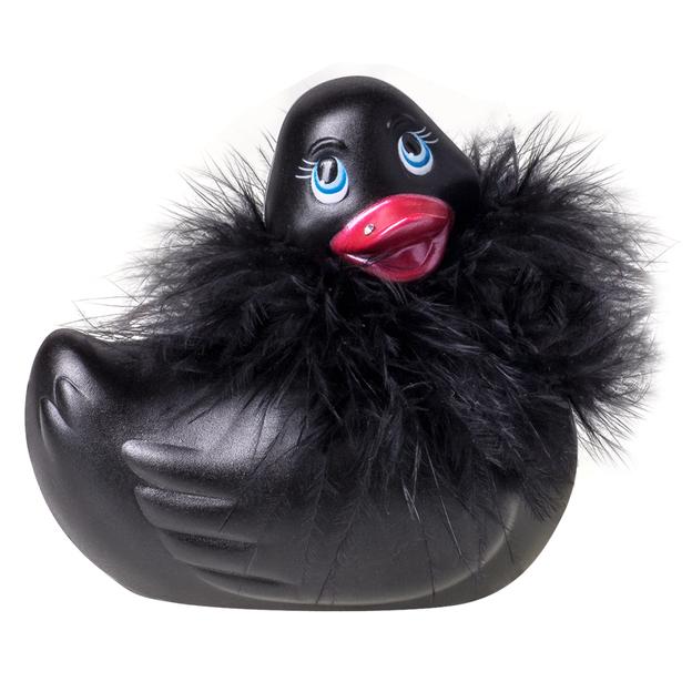 Canard vibrant I Rub My Duckie noir