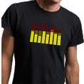 LED-Leucht-T-Shirt Equalizer