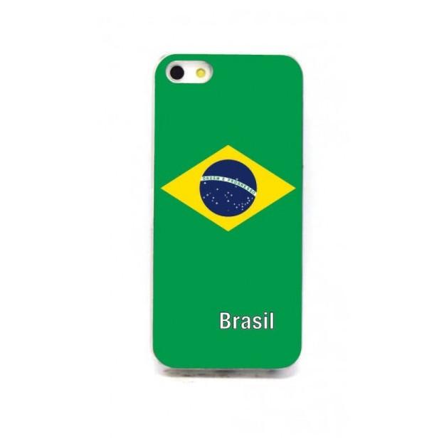 LED Länder iPhone 5/5S Schutzhülle Brasilien