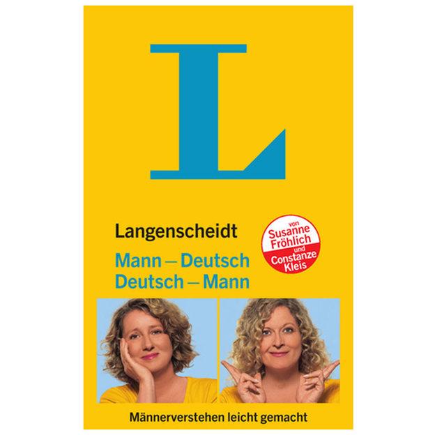 Langenscheidt Mann-Deutsch / Deutsch-Mann