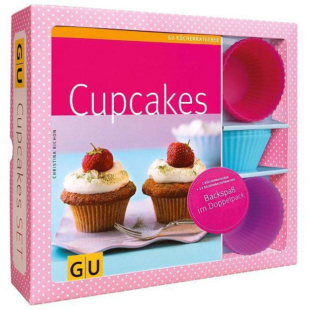 Cupcakes Buch inkl. Förmchen