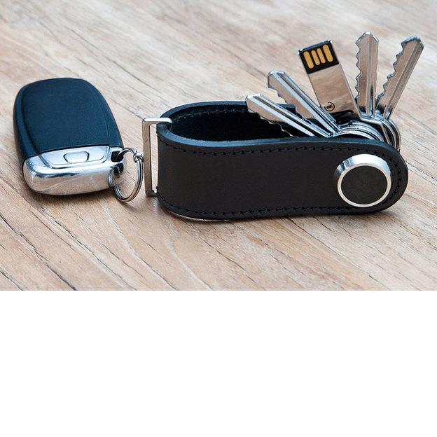 Porte-clés design S-Key en cuir