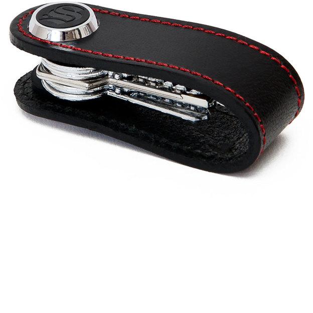 Porte-clés S-Key classic noir et rouge